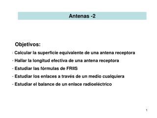 Antenas -2
