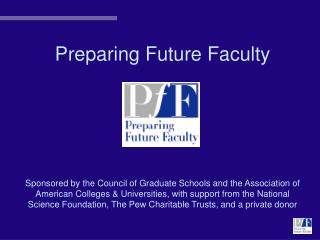 Preparing Future Faculty