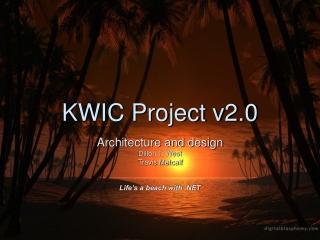 KWIC Project v2.0