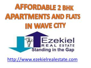 2 bhk affordable apartment/flats in dream homes wave city, g
