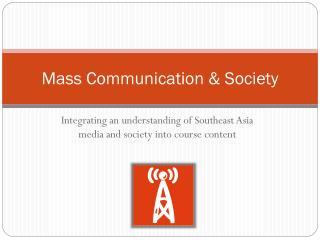 Mass Communication & Society