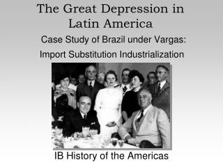 A Era Vargas 1930   1945: