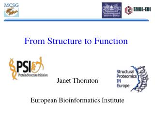 From Structure to Function