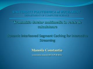 Manoil a Constantin < constantin.manoila @CS.PUB.RO >