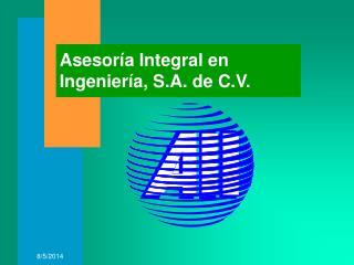 Asesoría Integral en Ingeniería, S.A. de C.V.