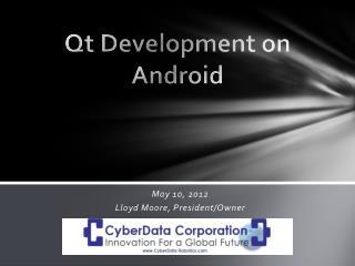 Qt Development on Android