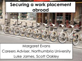Securing a work placement  abroad