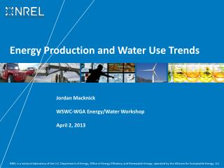 Energy Production and Water Use Trends