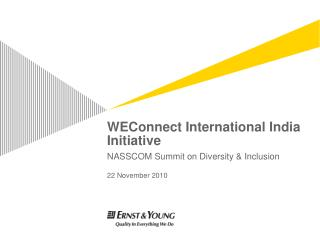 WEConnect International India Initiative