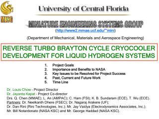 REVERSE TURBO BRAYTON CYCLE CRYOCOOLER DEVELOPMENT FOR LIQUID HYDROGEN SYSTEMS