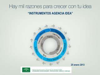 """""""INSTRUMENTOS AGENCIA IDEA"""""""