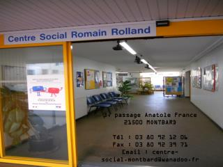 3, passage Anatole France 21500 MONTBARD T�l�: 03 80 92 12 06 Fax�: 03 80 92 39 71