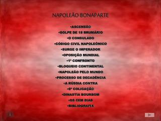 NAPOLE O BONAPARTE
