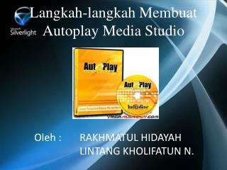 Langkah-langkah Membuat Autoplay Media Studio