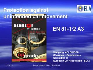 Unintended car movement