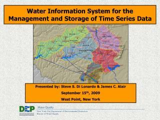 Presented by: Steve S. Di Lonardo & James C. Alair  September 15 th , 2009  West Point, New York