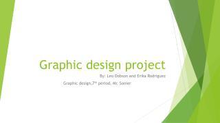 Graphic design project