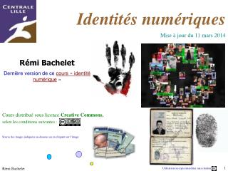 R mi Bachelet   Derni re version de ce cours   identit  num rique