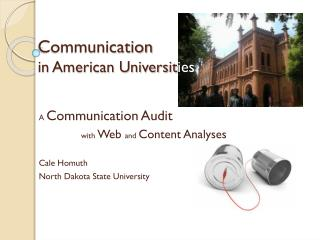 Communication  in American Universit ies