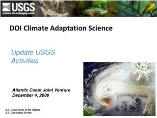 DOI Climate Adaptation Science