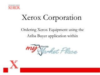 Customer creates PO in Ariba system for equipment order