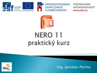 NERO 11 praktick� kurz