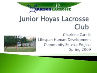 Junior Hoyas Lacrosse Club