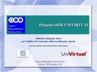 Progetto OER-UNIVIRTUAL