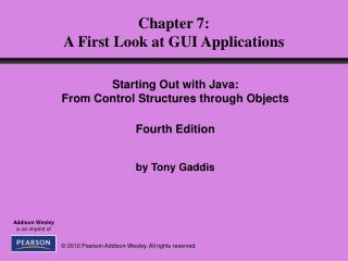Chapter 7: A First Look at GUI Applications
