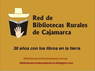bibliotecasrurales@speedy.pe