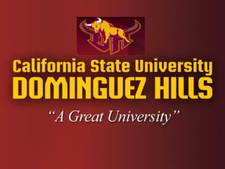 CSUDH Admissions Requirements