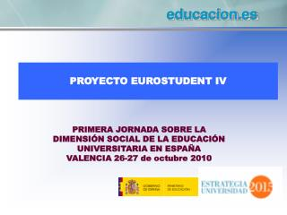 PROYECTO EUROSTUDENT IV