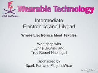 Intermediate  Electronics and Lilypad