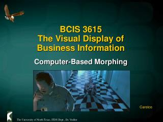 BCIS 3615  The Visual Display of  Business Information