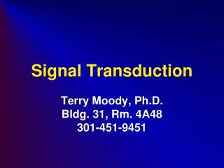 Signal Transduction