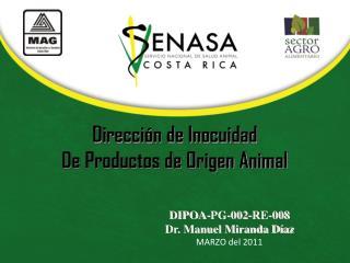 Dirección de Inocuidad De Productos de Origen Animal
