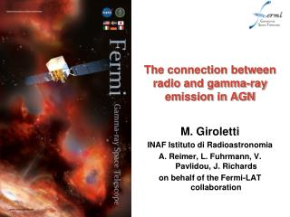 The connection between radio and gamma-ray emission in AGN