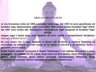 ÀRIA MARIA FELICIA