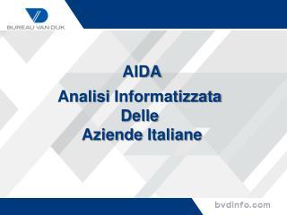 AIDA Analisi Informatizzata Delle Aziende Italiane