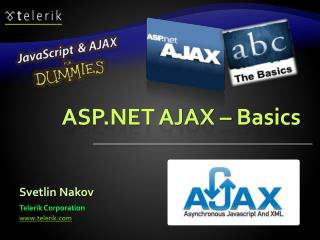 ASP.NET AJAX  – Basics