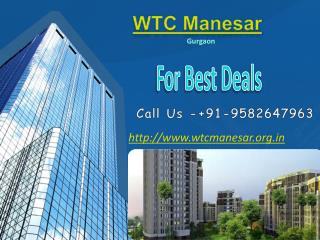 WTC Manesar- WTC Manesar Gurgaon