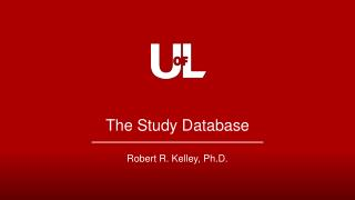 The Study Database