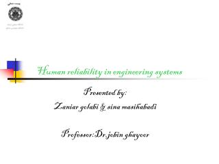 Human reliability in engineering systems