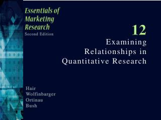 Examining Relationships in Quantitative Research