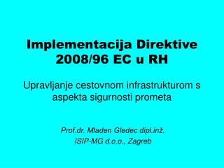 Implementacija Direktive 2008