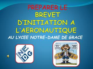 BREVET D'INITIATION A L'AERONAUTIQUE