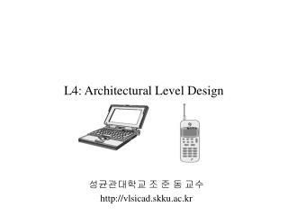 L4: Architectural Level Design