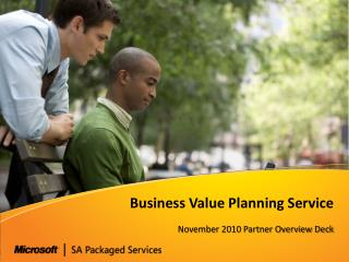 Business Value Planning Service