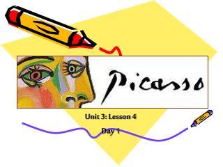 Unit 3: Lesson 4 Day 1
