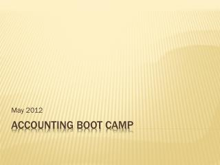 Accounting Boot camp